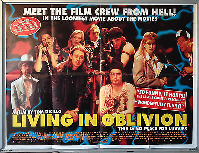 Cinema Poster: LIVING IN OBLIVION 1995 (Quad) Steve Buscemi Dermot Mulroney