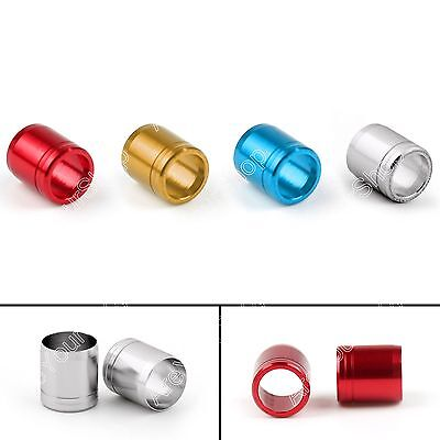 12pcs Aluminium Explosion-proof Ring F Tiro al arco Arrow OD 7.6mm