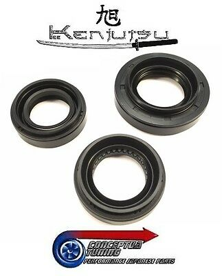 Kenjutsu Front Diff Transmission Sump Oil Seals - For R32 GTR Skyline RB26DETT