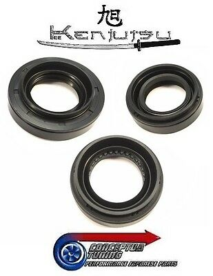 Kenjutsu Front Diff Transmission Sump Oil Seals - For R34 GTR Skyline RB26DETT