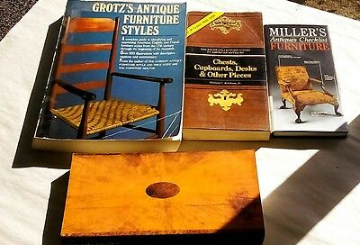 Lor Of 4 Book Guides on Antique Furniture Identification