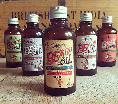 Bobos Beard Company Beard Oil 50Ml With 2 Free Beard Reviving Oils Worth £19.98