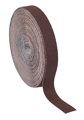 ERB2550120 Sealey Emery Roll Brown 25mm x 50mtr 120Grit [Emery Papers]