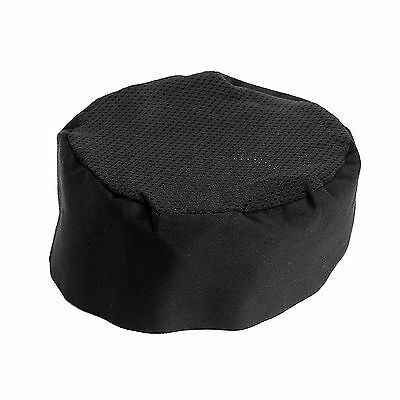 Adjustable Breathable Mesh Top Professional Chefs Hat Catering Skull Cap Cool
