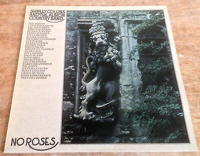 SHIRLEY COLLINS*ALBION COUNTRY BAND no roses 1976 UK MOONCREST STEREO VINYL LP