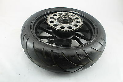 1999-2002 Yamaha Yzf R6 Oz Racing Straight Rear Wheel Back Rim W Shinko Tire 5Eb