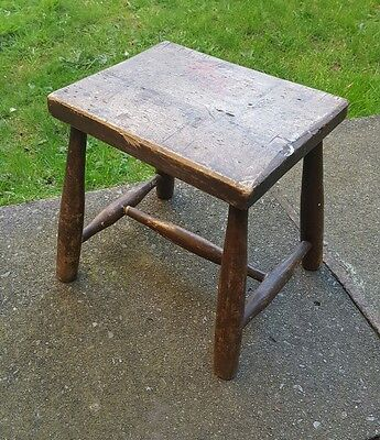 Vintage Antique Milking Stool