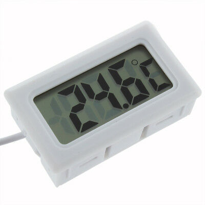 Aquarium LCD DIGITAL THERMOMETER WHITE £2.29 FREE P&P UK SELLER 24HR DISPATCH