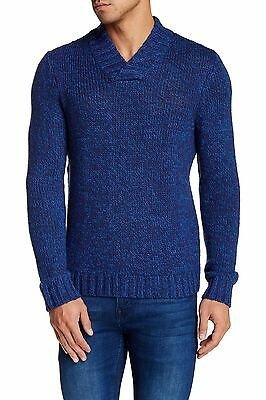Penguin NEW Blue Mens Size XL Crewneck Striped Pullover Sweater $98 649 DEAL