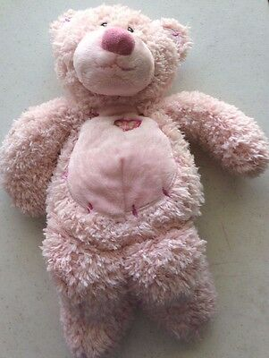 First and main Pink tender teddy #2515 baby bear plush ships free