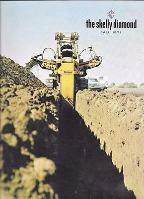 1971 The Skelly Diamond Employee Magazine Fall Issue Skelly Oil Company