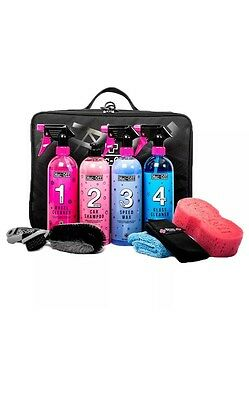 Muc-Off Luxury Car Valet Case Perfect Bodywork & Wheels Cleaning Collection Kit