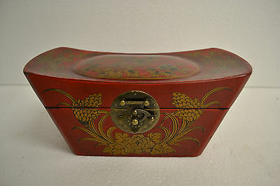 Chinese Pillow Shaped Box 73-124c