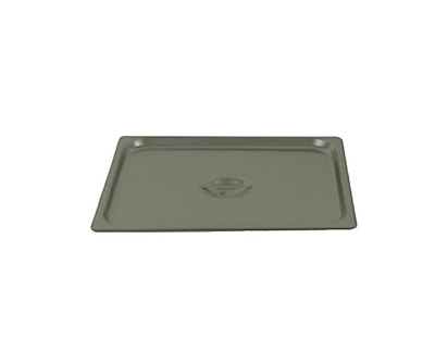 Thunder Group Stpa7230Cs Steam Table Pan Cover 2/3 Size Slotted Handle Two Third
