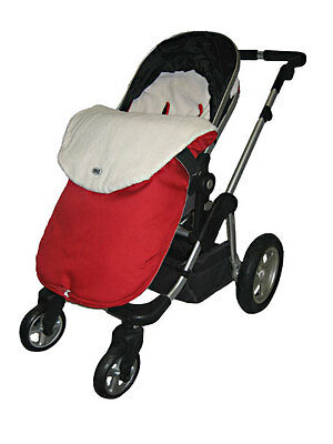 Jolly Jumper SNUGGLE BAG for Strollers, for Baby's Comfort & Warmth, Red or Grey