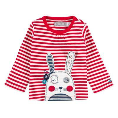 Bóboli Baby Girl Long Sleeve Shirt Rabbit Sz. 56 62 68 74 80