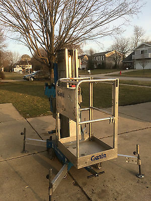 Genie Awp 30 Manlift Man Scissor Lift 2006