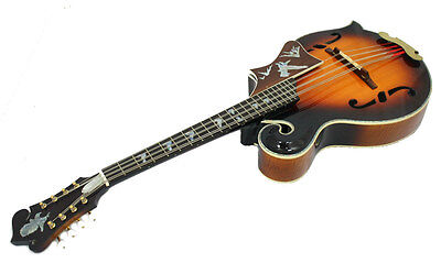 F5 Style Arch Top Solid Spruce & Curly Maple MANDOCELLO & Hard Case NF5MO53