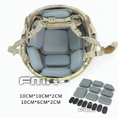 New 8PCS CP FMA Helmet  Airsoft Military Tactical Protective Pads Protector