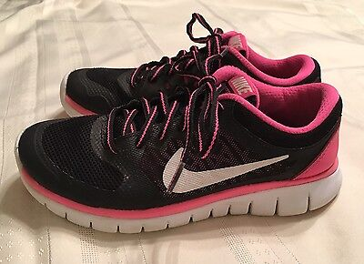 Youth Girl Nike Sneakers Shoes Size 4 Y Black Mesh