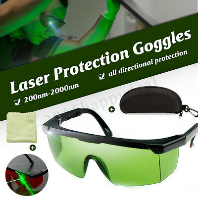 Laser Protection Protective Goggles Glasses Safety 200nm-2000nm  IPL-2 OD+4D