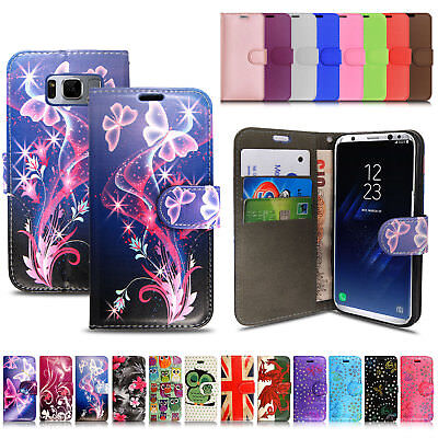 Samsung Galaxy J4+Plus/ J6+Plus /A7/J6 /A6 2018 Leather Wallet Phone Cover Case