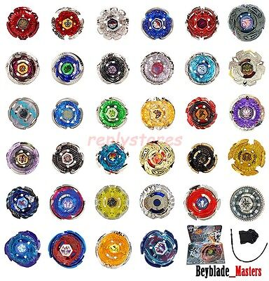 Beyblade Top Metal Fusion Fight Masters 4D System Toys Set + Launcher New In Box