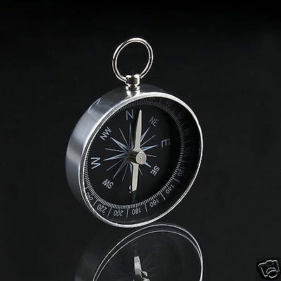 Delicate Mini Compass Keyring Outdoor Navigator Survival Tool Climbing Hiking