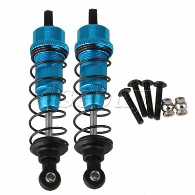2x Blue 85mm Upgrade Aluminum F103004 Shock Absorber for RC 1:10 Off Road Car