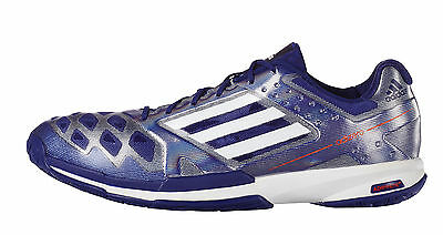 adidas Adizero Feather Mens Badminton Trainers - Night Flash - RRP: £100
