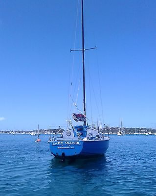 1972 Sail Boat 8M (24') & Prestigious Swing Mooring (Optional)