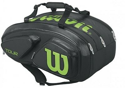 Wilson Tour V 15 Racket Bag black WRZ845615