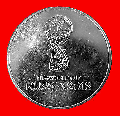 * Russia 25 Rubles 2018  FIFA World Cup Football  ! NEW !