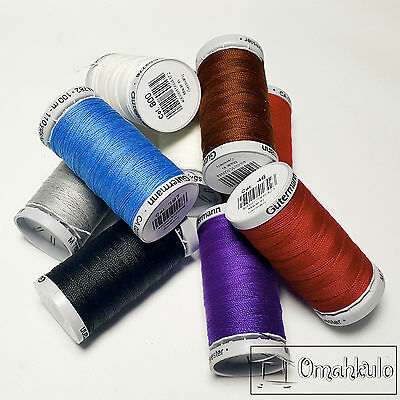 GUTERMANN - Extra Strong Thread - M782 - 100M - Polyester - Choose Your Colour