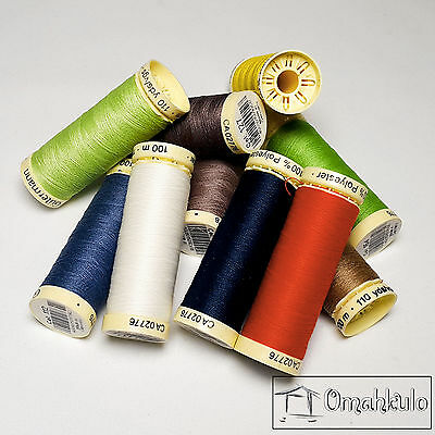 GUTERMANN - 100% Polyester Sew All Thread - 100m - Any Colour/Quantity