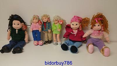 Ty Beanie,tennie  Boppers sweet sally,naughty natalie,rockin rose,spunky sam +