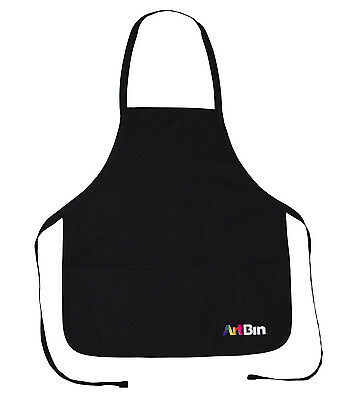 3 Pocket Black Crafting Apron by ArtBin - FREE SHIPPING