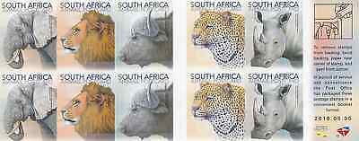 SOUTH AFRICA - 2010 - Wildlife. Booklet of 10v. Mint NH