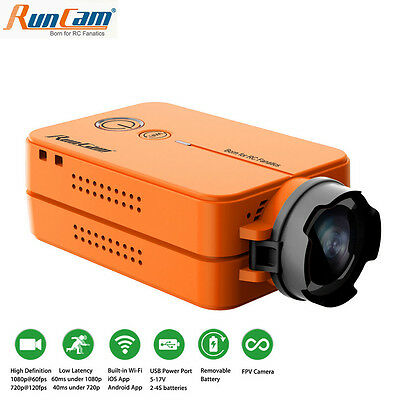 RunCam 2 Ultra HD 1080P FPV Camera 60fps WiFi link Camcorder For Racing Drone