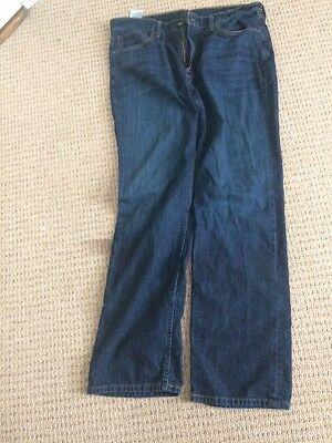 Levi's Blue Wash Denim Jeans Relaxed Fit Mens Size 36x32