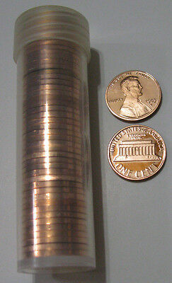 1983 S 1c Proof Lincoln Cent Penny Roll 50 Coins