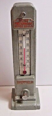 Sheffield Prescisionaire Advertising Thermometer-Dayton