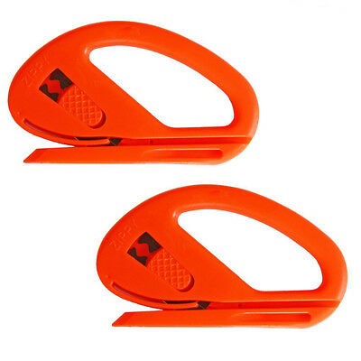 2 PCS Safety Vinyl Snitty Cutter for Car Wrapping Tools Window Tint Install UK