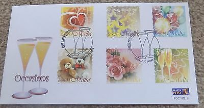 First Day Cover Malta Occasions 28 09 2007