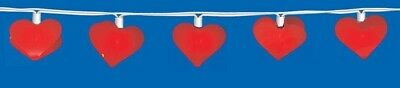 QUANDT Light chain Hearts for children Maid's room Decorative Zimmer Decoration