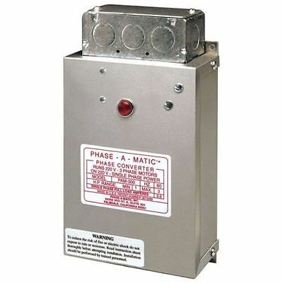 Phase-A-Matic - Static Phase Converter - Model Pam-600