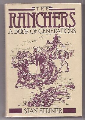 The RANCHERS - A BOOK of GENERATIONS  1980 1st!  NICE!  DJ & ILLUSTRATIONS