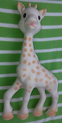 Sophie the Giraffe Teether Baby Toy Vulli Rubber Teething Squeaker Squeak