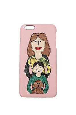 Iphone Cases Dolce&Gabbana Women Leather Pink BI0819AB4358H402