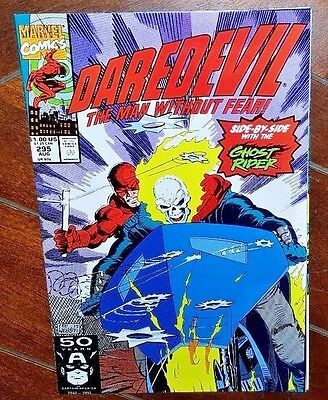 Daredevil the Man Without Fear! #295, (1991, Marvel) Through the Eyes of the....